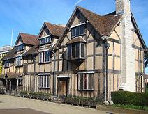 Shkespear's Birthplace at Straford-Upon-Avon