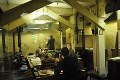 The original Map Room and nerve centre of the Churchill War Rooms
