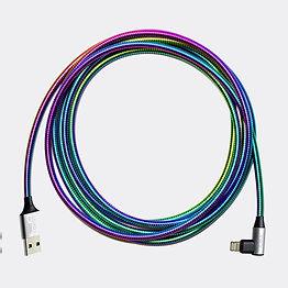 Universal charging cords of steel