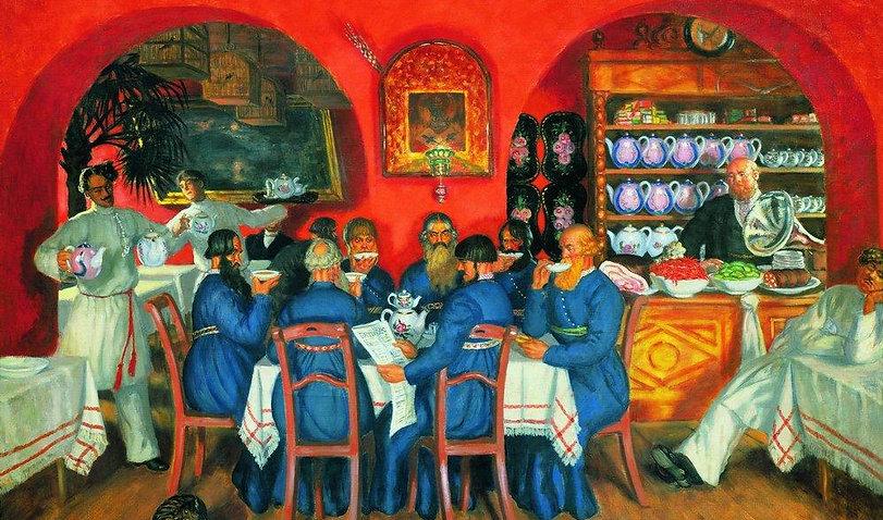 Картина Бориса Кустодева