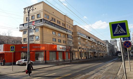 Конструктивистский дом на улице Мытной
