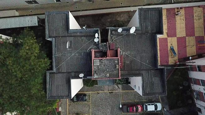 Inspeção telhado