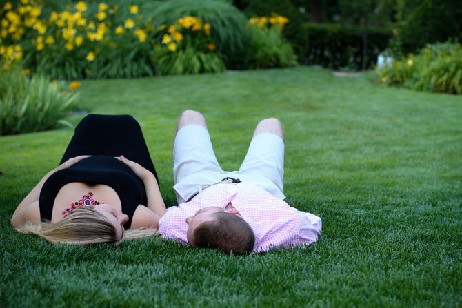 Libby and Aaron // Maternity