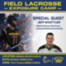 Field Lacrosse Exposure Camp - Promo Gra