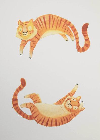 Tiger - Digital Print