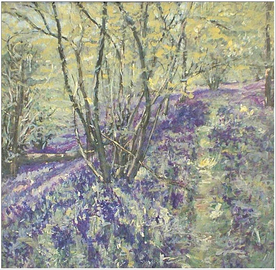 Bluebells In Nower Wood 2 (Price on Application)