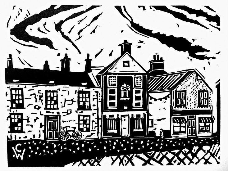 Linoprint: Alyth Museum