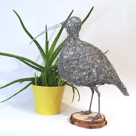 Curlew Wire Sculpture