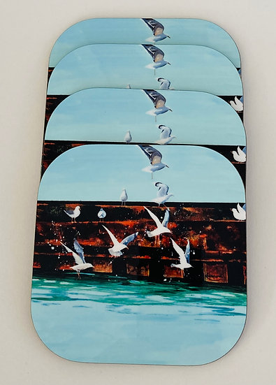 Seagulls Coasters