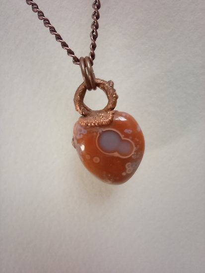 Circles - Scottish Agate Necklace