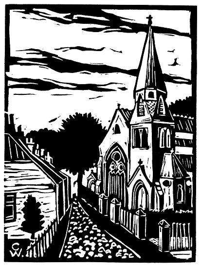 Linoprint: Ardler