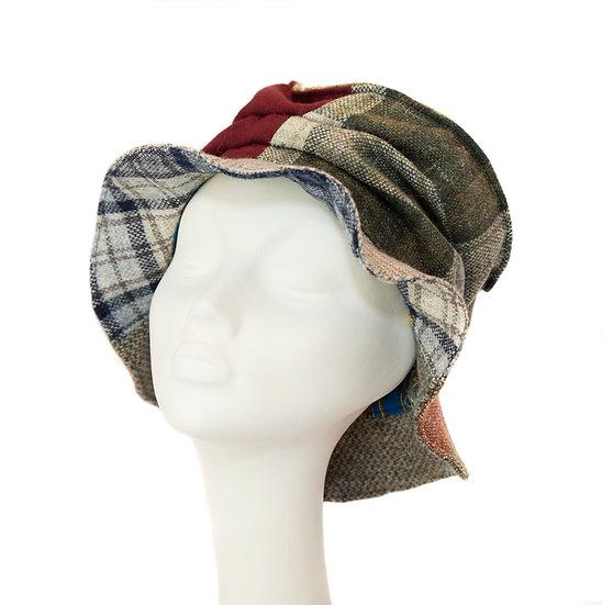 Repurposed Fabric Hat