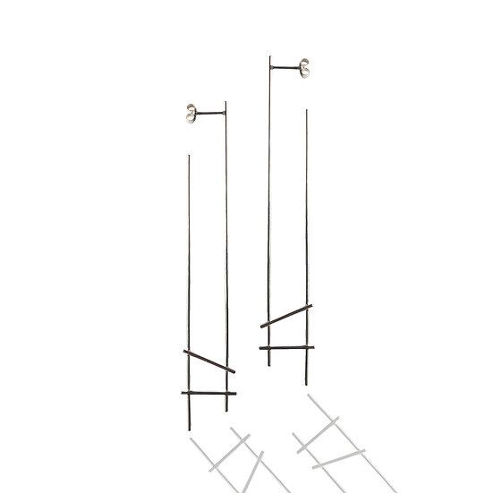 Irregular Intersect Long Hoops