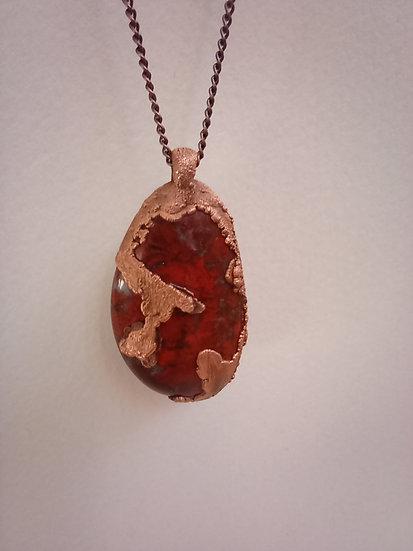 Magma - Scottish Jasper Necklace