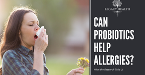 Can Probiotics Help Cool Down Seasonal Allergies?