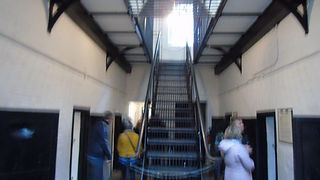 Military Prison Cells on two floors.JPG