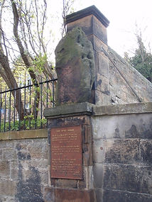 The Bore Stone Morningside Edinburgh