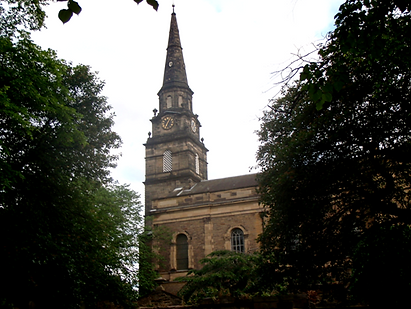 St Cuthbert's R.C Church Edinburgh