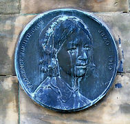 Florence Nightingale Medallion Morningside Edinburgh