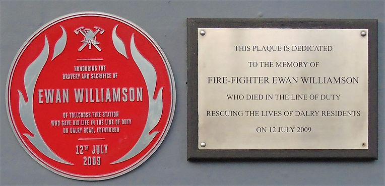 Brave Firefighter Ewan Williamson Edinbu