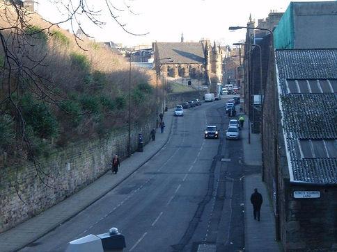 Kings Stable Road. Grassmarket Edinburgh