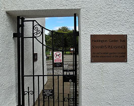 St Mary's Pleasance Garden Entrance Hadd