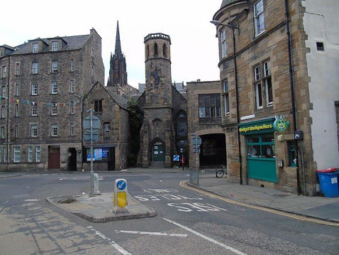 COWGATEHEAD FREE CHURCH Junction of Candlemakers row