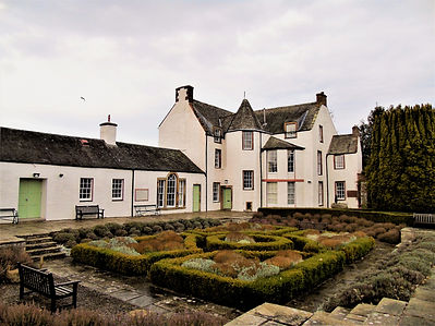 Haddington House and St. Marys Pleasance Garden East Lothian