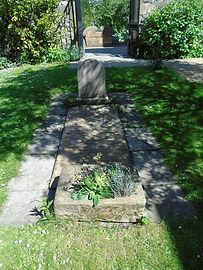 Anne Rutherford  Grave Sir Walter Scott'