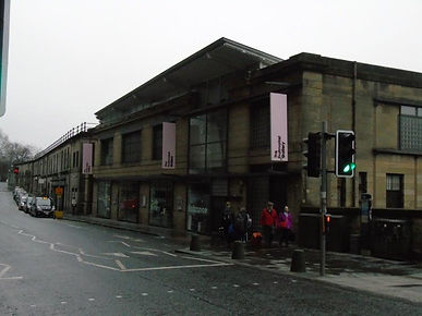 Fruitmarket Gallery. Market Street Edinb