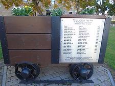 Coal Wagon Memorial Wallyford East Lothi