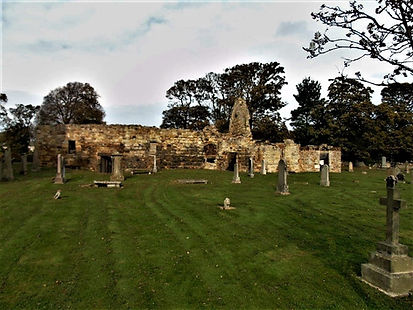 Old Church of St Andrew Gullane East Lot