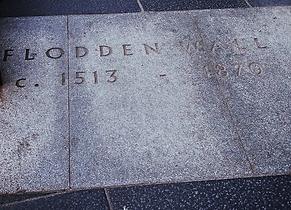 Flodden wall marker foot vennel