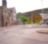 Horse Wynd and Scottish Parliment Royal Mile Edinburgh