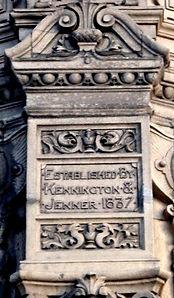 Jenners Foundation Stone Princes Street Edinburgh