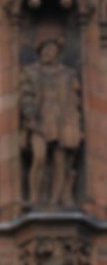 statues of King James V scottish national portrait gallery queen street edinburgh