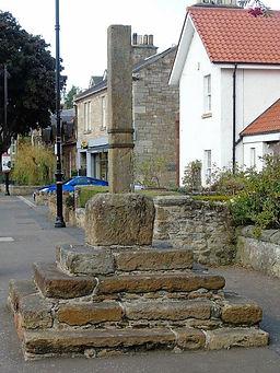 Aberlady Mercat Cross Aberlady East Lothian