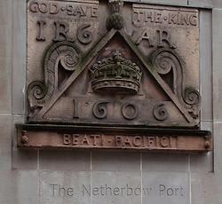 Nether Bow Tablet High Street Edinburgh