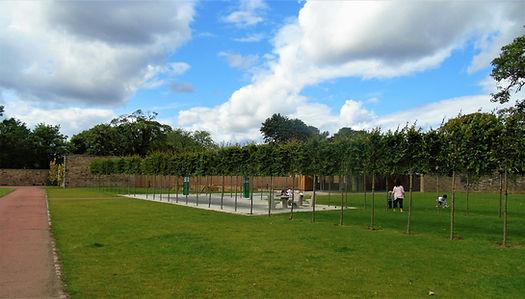 Saughton Park Picnic Area.Edinburgh