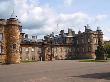 Holyrood House Abbey Strand Royal Mile Edinburgh