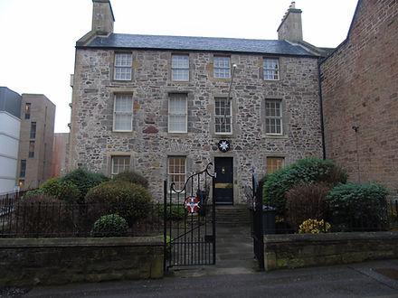Robert Burns Lodge Kilwinning Canongate Edinburgh 1878