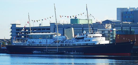 Royal Yacht Brotannia Ocean Terminal Edinburgh