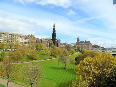 East Princes Street Gardens Edinburgh