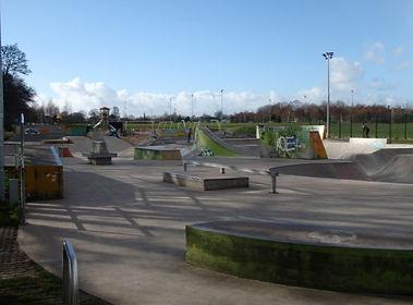 The Skateboarders Park Saughton Edinburgh