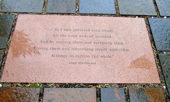 Hugh MacDiarmid Stone