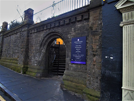 Greyfriars Candlemaker Row Entrance.JPG