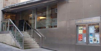 Storytelling Centre High Street Edinburgh