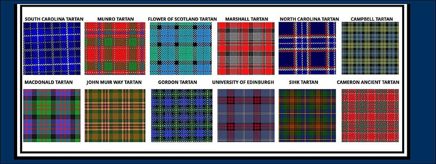 Scottish Clans Tartan