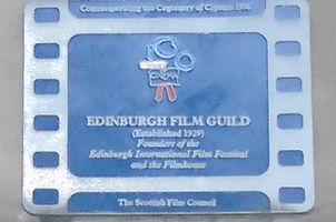 film house plaque lothian road edinburgh