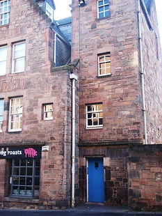 Oldest House in Canongate Royal Mile Edi